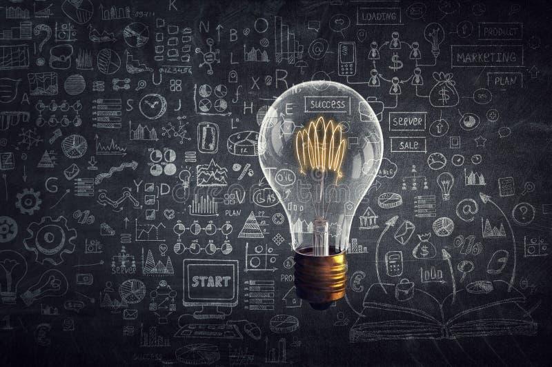 Concept de la pensée créative illustration stock