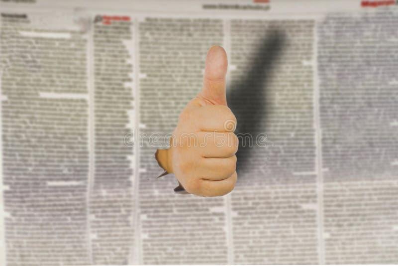 Concept de la polémique de la déclaration et de la liberté de la déclaration dans le media photo stock