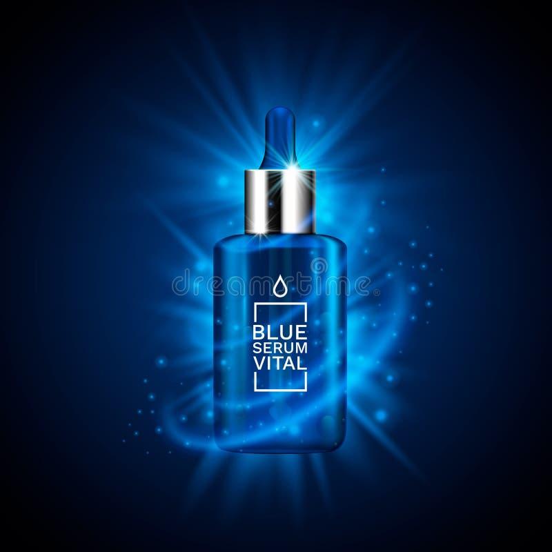 Concept de la publicité de produit de beauté pour le cosmétique illustration libre de droits