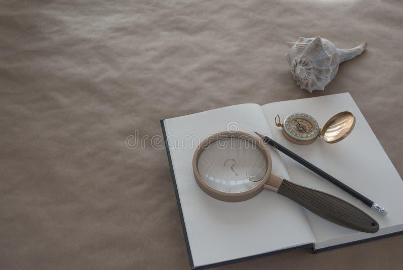 Concept de la recherche, éducation, enquête photographie stock