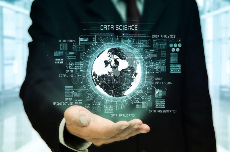 Concept de la science de données images libres de droits