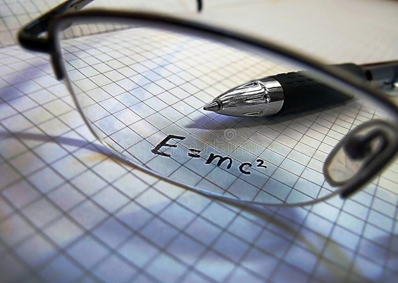 Concept de la Science - physique images stock
