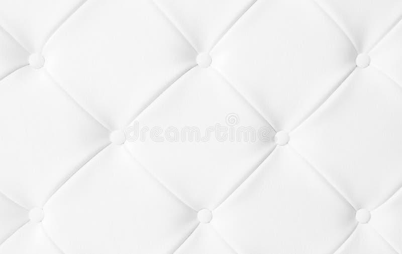 Concept de luxe blanc léger FO de fond de texture de sofa de tapisserie d'ameublement photographie stock libre de droits