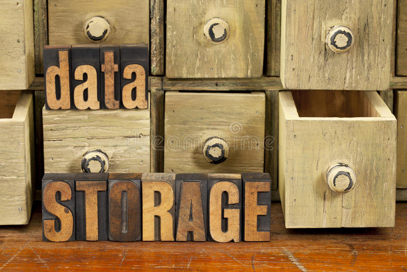 Concept de mémoire de données images stock