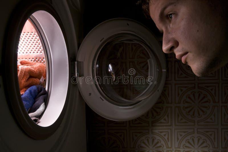 Concept de machine à laver photographie stock libre de droits