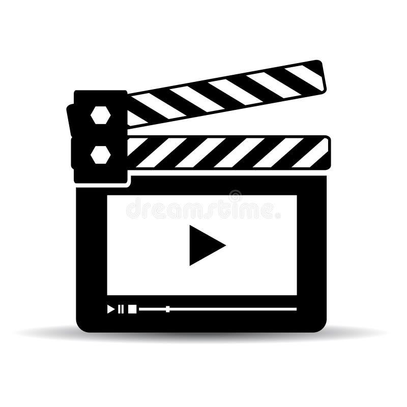 Concept de media player illustration stock