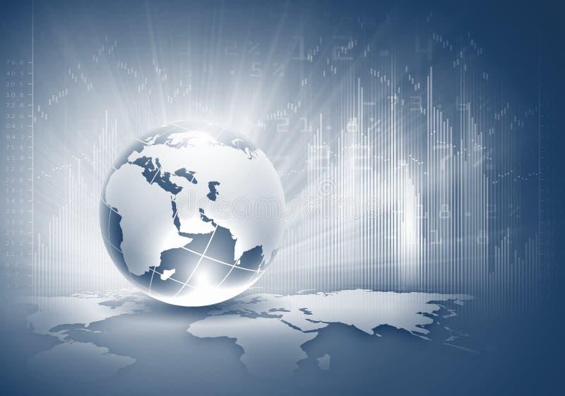 Concept De Mondialisation Photographie stock libre de droits