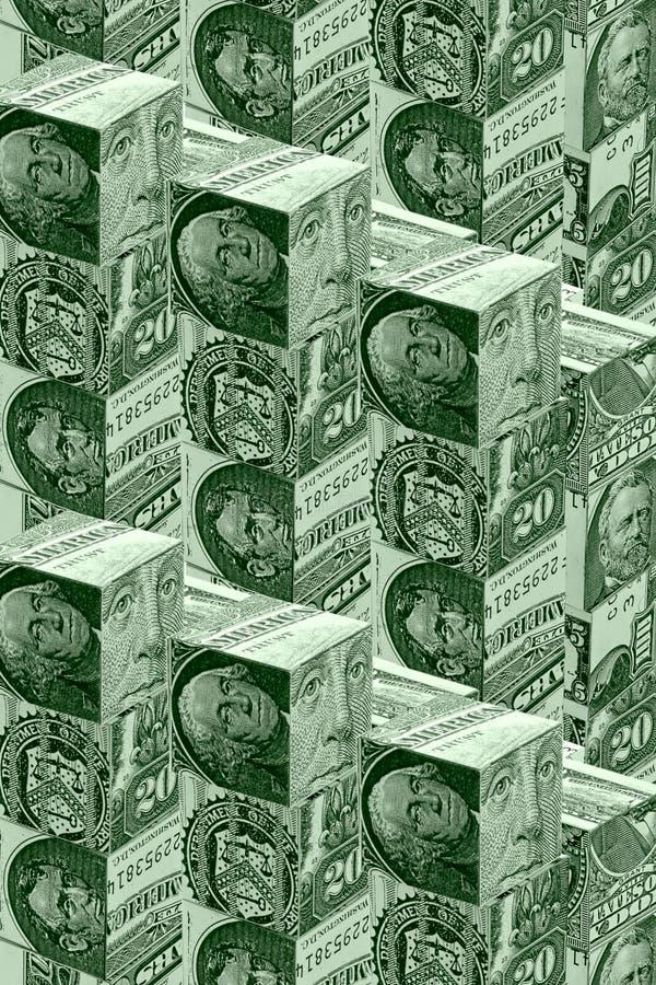 Concept de mur d'argent illustration libre de droits