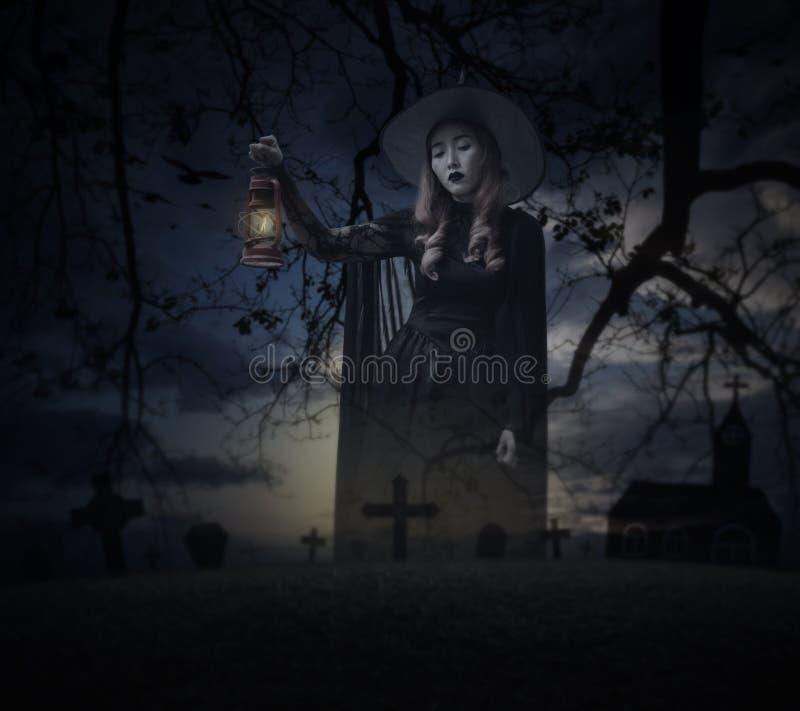 Concept de mystère de Halloween photos libres de droits