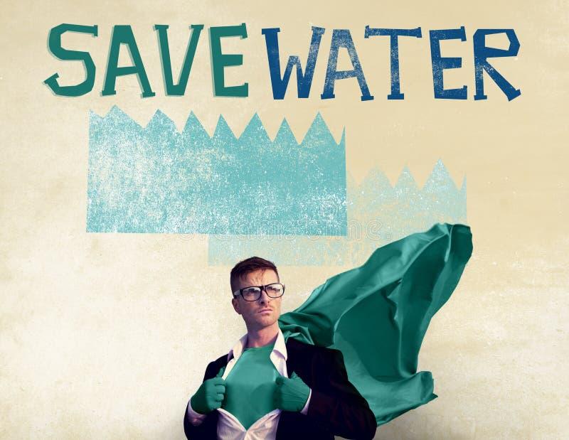 Concept de nature de durabilité de conservation de l'eau d'écologie photo libre de droits
