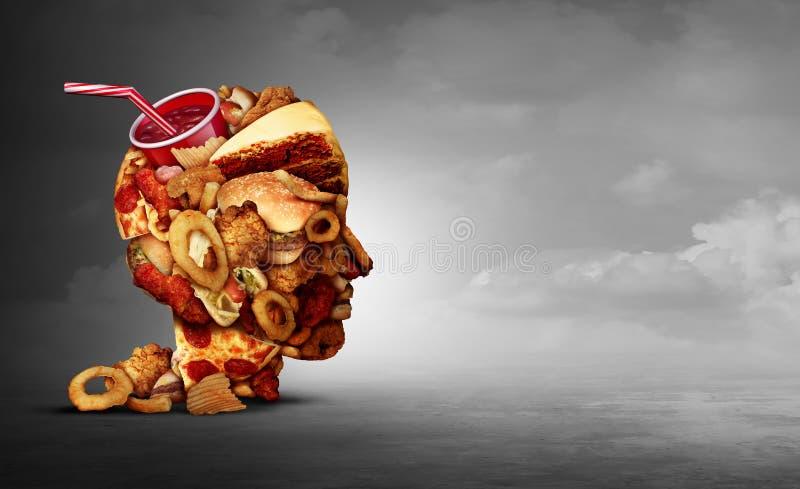 Concept de nourriture industrielle illustration de vecteur