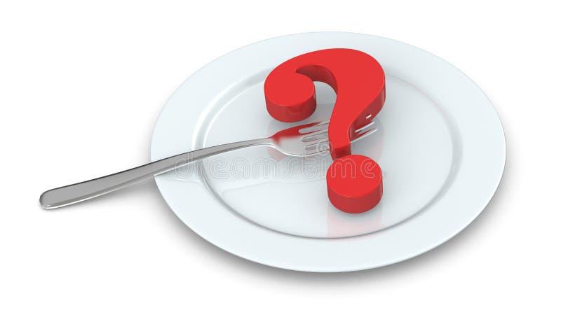 Concept de nourriture malsaine illustration libre de droits