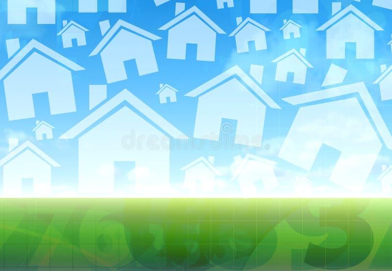 Concept de nouvelle maison illustration libre de droits