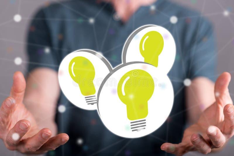 Concept de nouvelles idées image stock