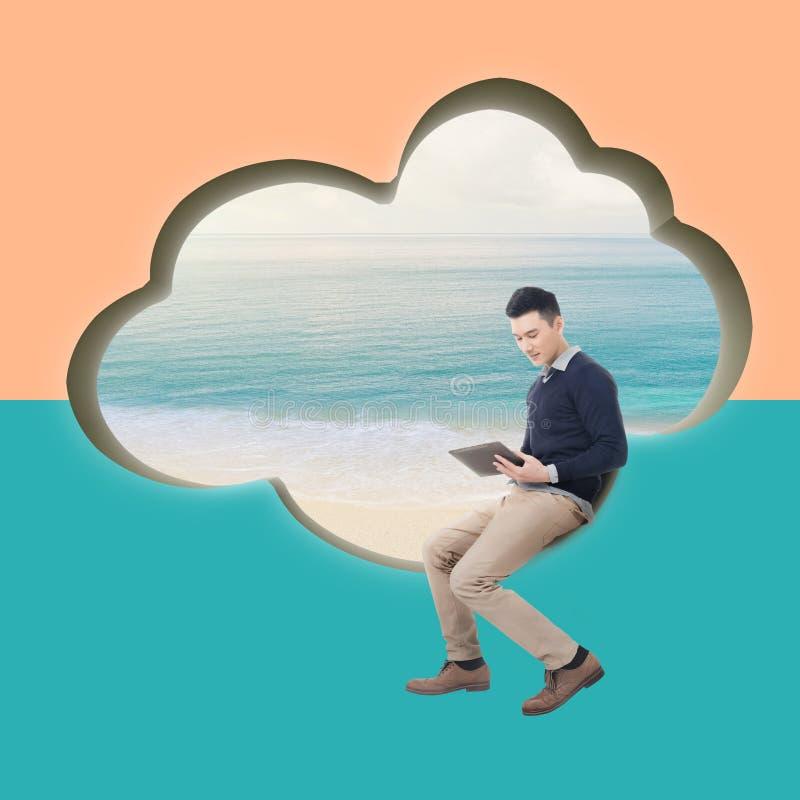 Concept de nuage photographie stock libre de droits