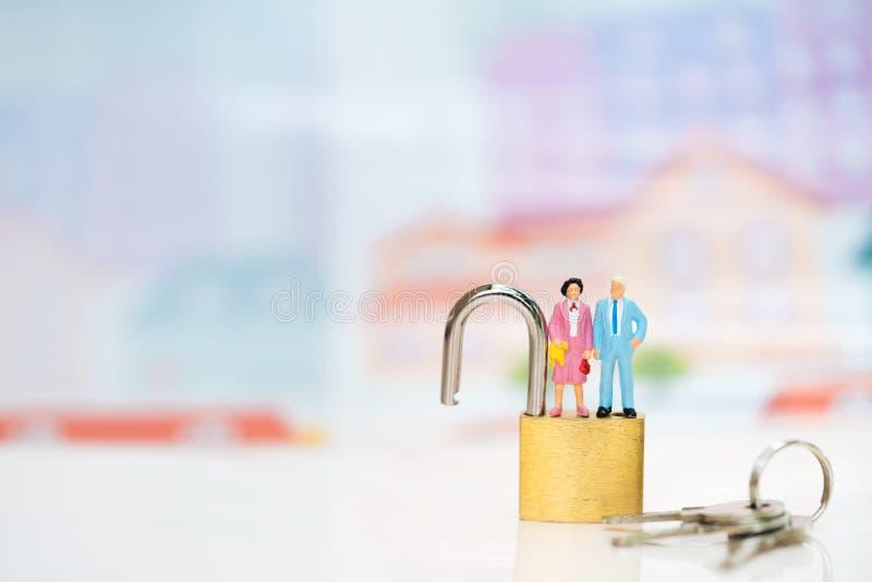 Concept de ouvrir la planification de la retraite photos stock
