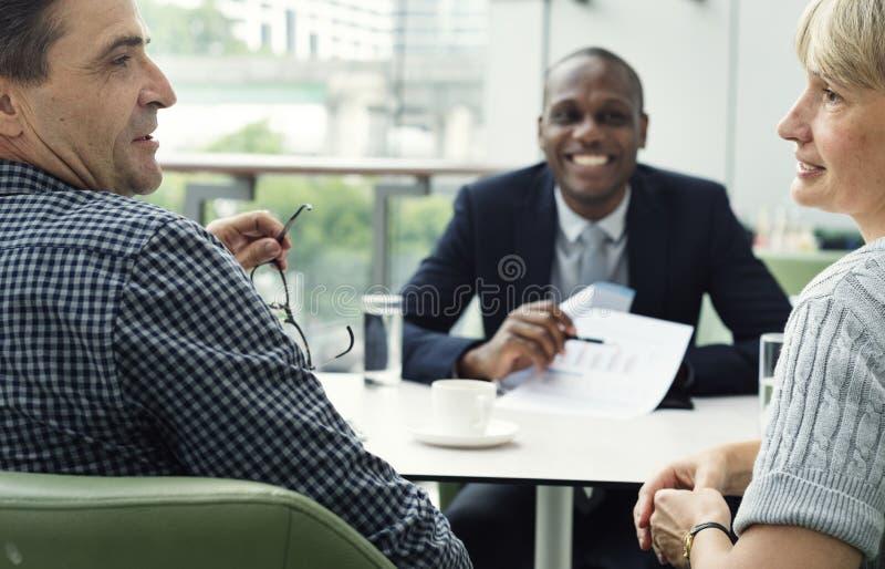 Concept de personnes de connexion de communication d'affaires photo stock
