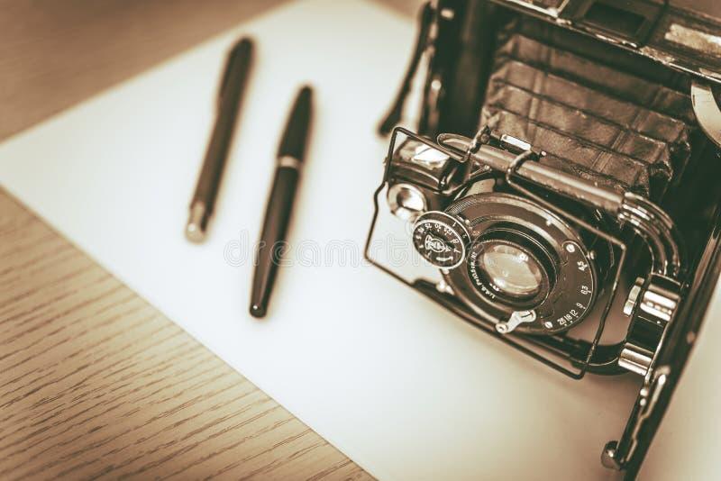 Concept de photographie de vintage photographie stock