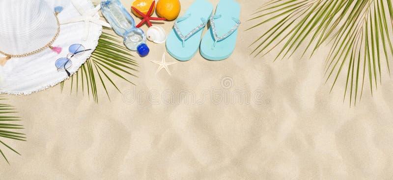 Concept de plage photo stock