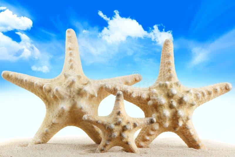 Concept de plage de vacances images libres de droits
