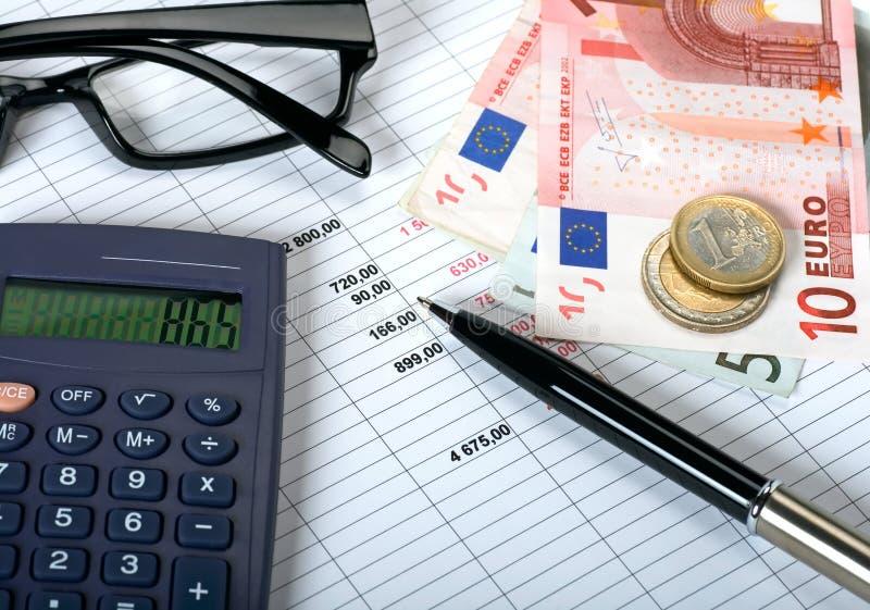 Concept de planification financière image libre de droits