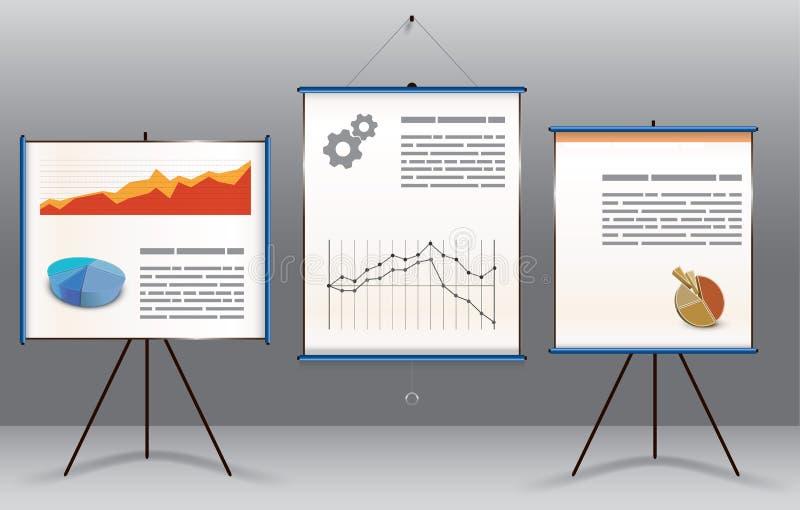 Concept de présentation d'affaires illustration stock