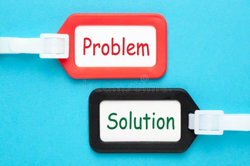 Concept de problème et de solution image libre de droits