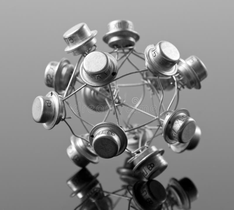 Concept de processeur images stock