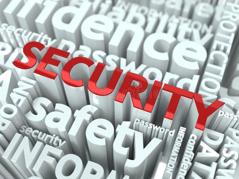 Concept de protection des données. illustration libre de droits