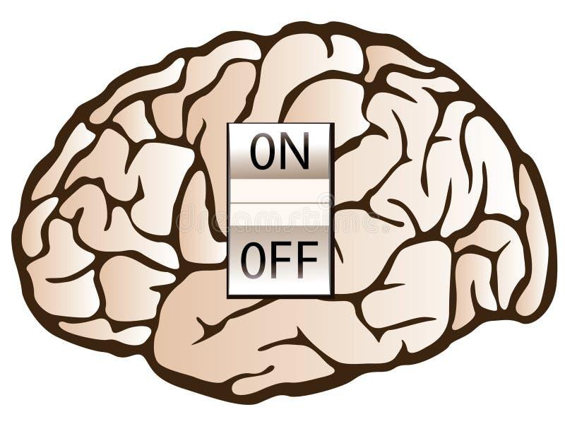 Concept de psychologie illustration stock