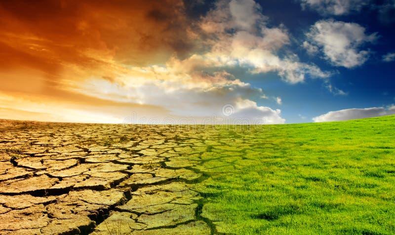 Concept de réchauffement global images libres de droits