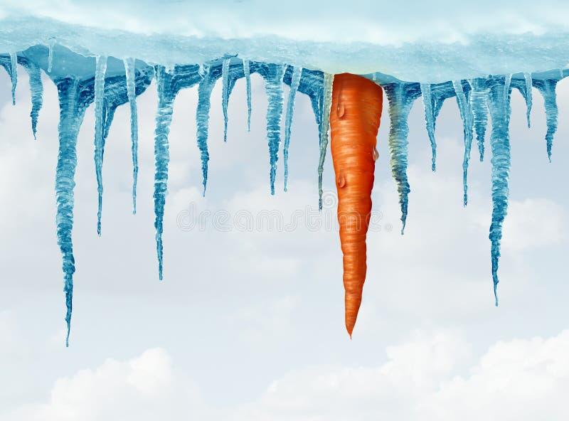 Concept de régime d'hiver illustration libre de droits