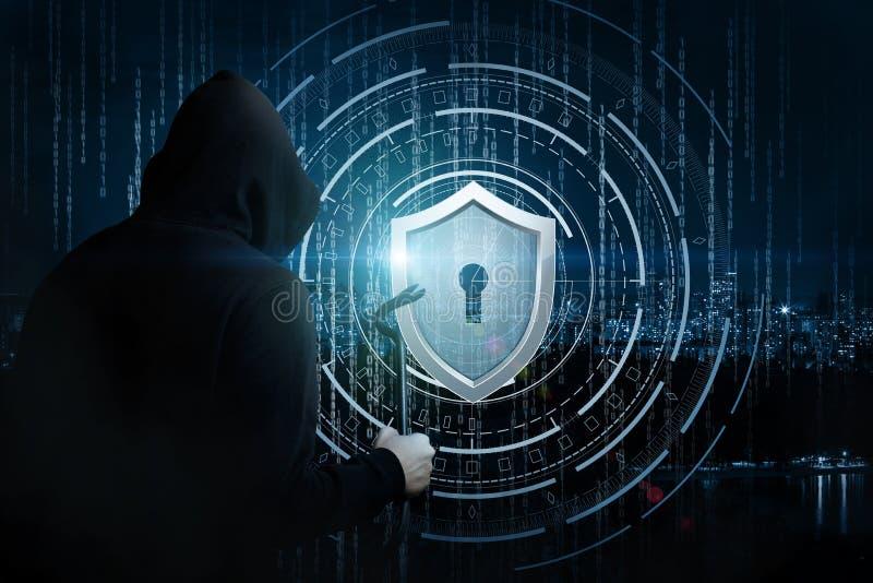 Concept de réseau de protection photo libre de droits
