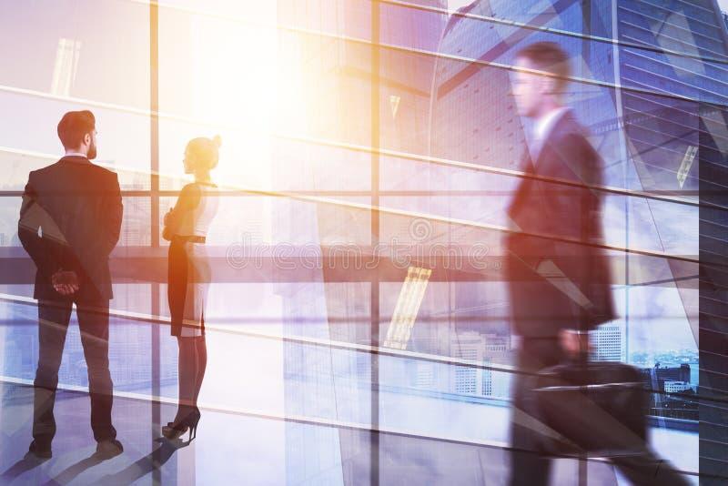 Concept de réunion et d'emploi images stock