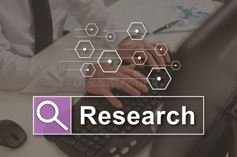 Concept de recherche illustration libre de droits