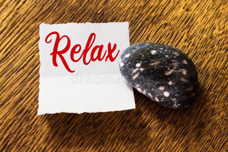 Concept de relaxation photo libre de droits