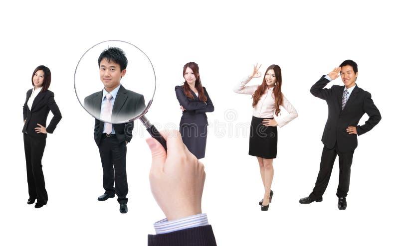 Concept de ressources humaines photos stock