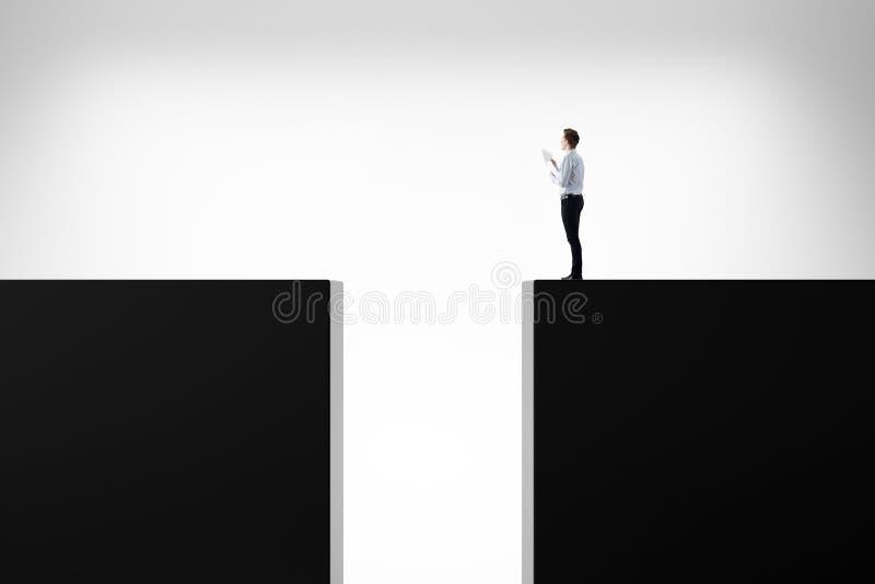 Concept de risque, de défi et de direction illustration libre de droits