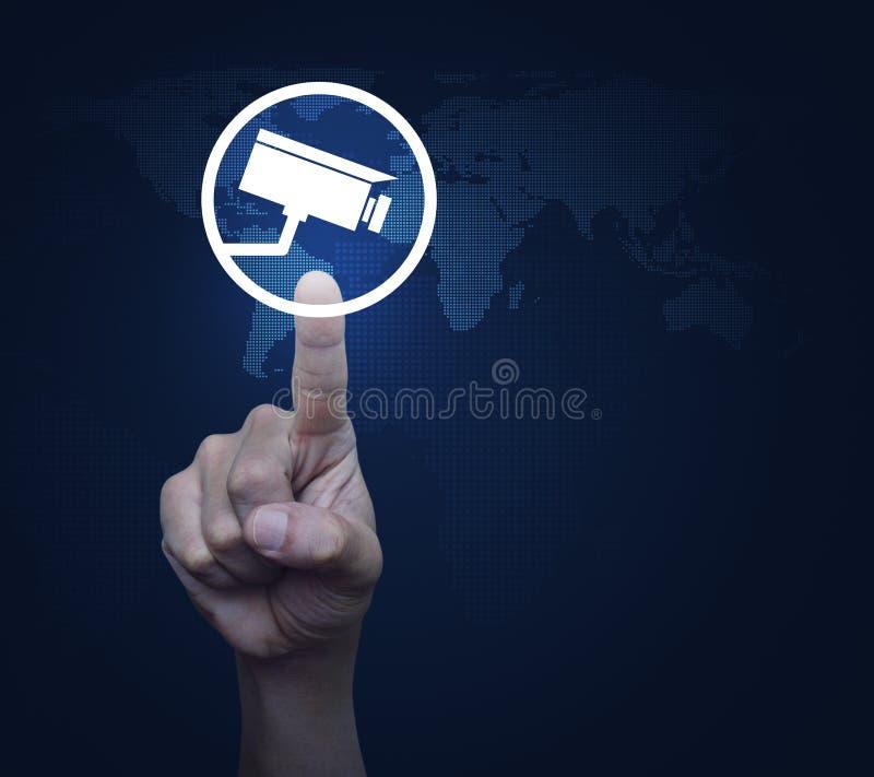 Concept de sécurité d'affaires, éléments de cette image meublés par N image libre de droits