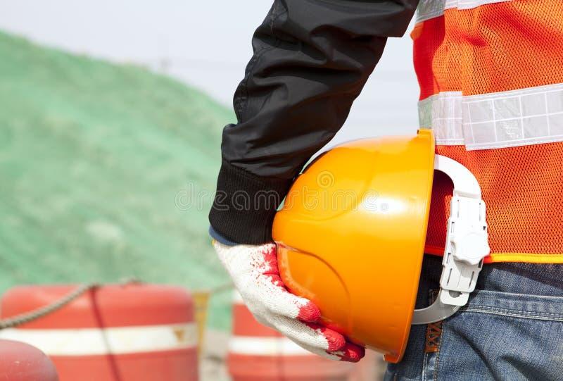 Concept de sécurité dans la construction photo libre de droits