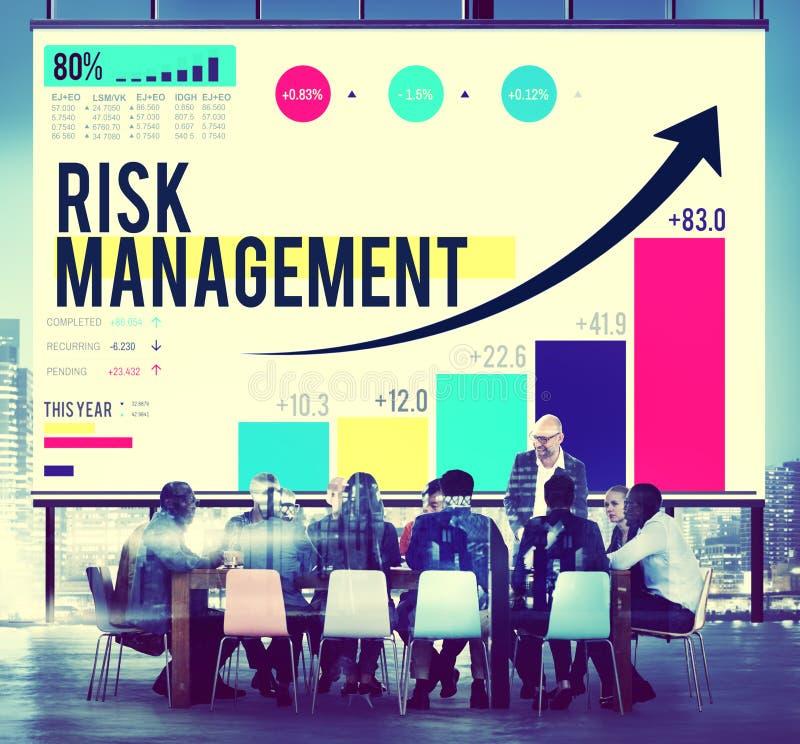 Concept de sécurité de planification d'occasion de gestion des risques photos libres de droits