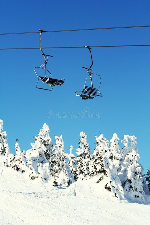 Concept de saison de ski photo stock