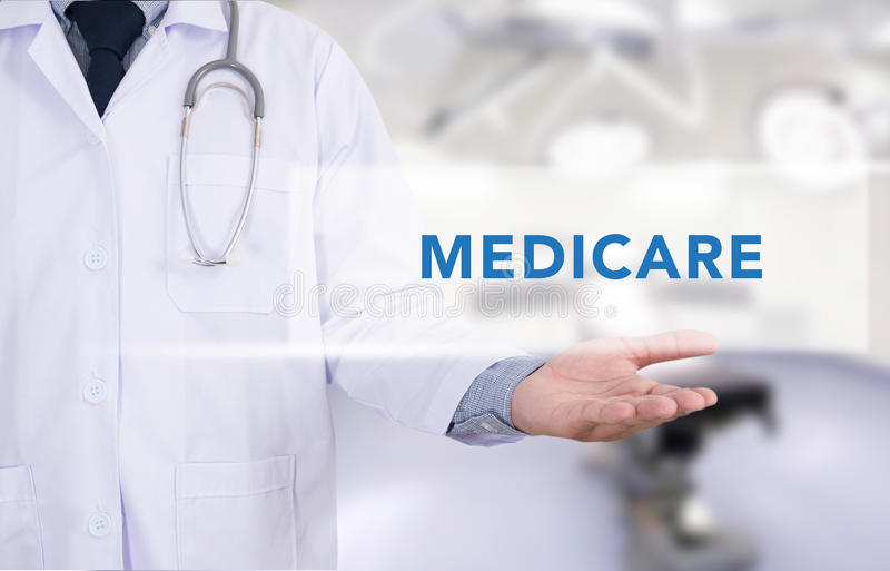 Concept de santé - ASSURANCE-MALADIE image stock