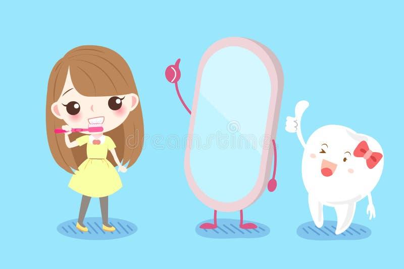 Concept de santé de dent illustration libre de droits