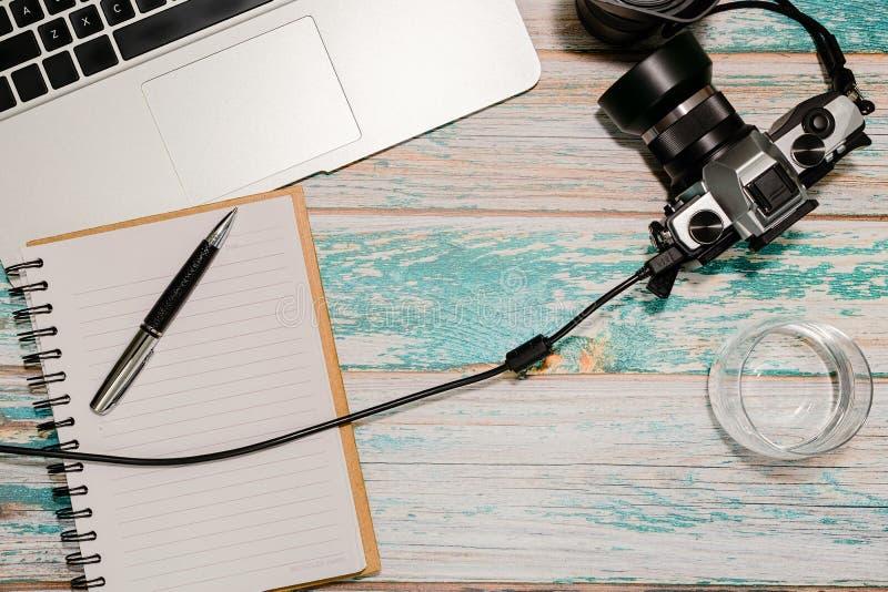 Concept de siège social de photographe photos stock