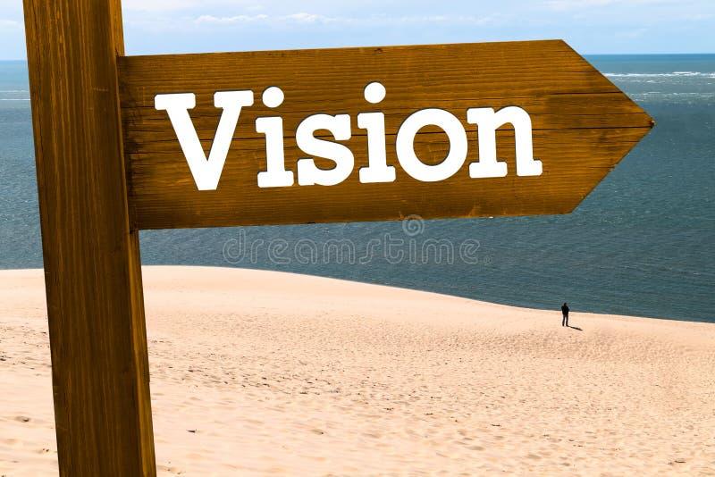 Concept de signe de vision photos stock