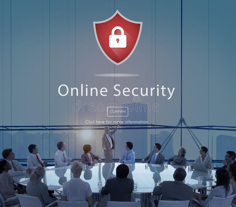 Concept de site Web fixé par avertissement d'avertissement d'alerte sécurité images libres de droits