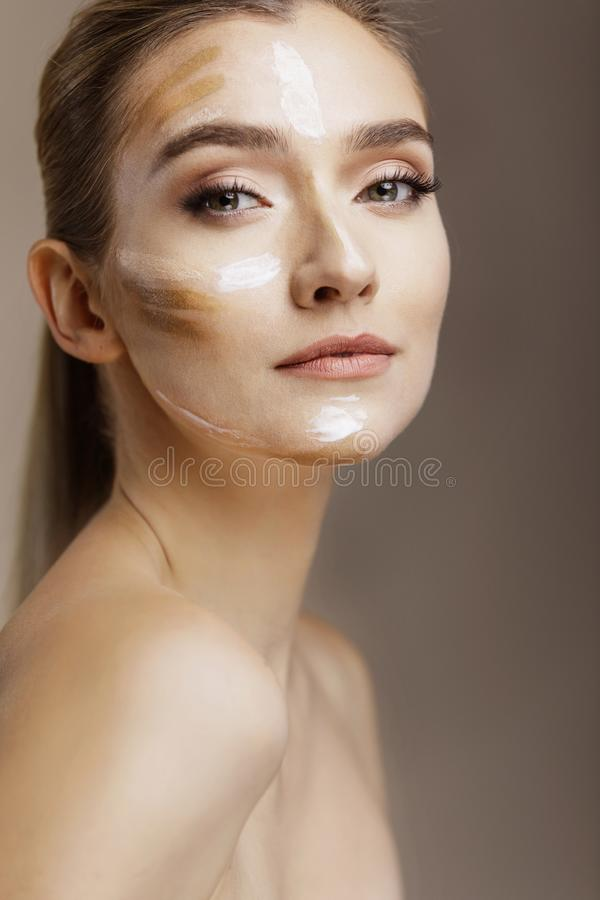 Concept de soins de la peau et de beauté photo libre de droits