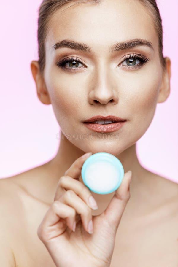 Concept de soins de la peau et de beauté images libres de droits