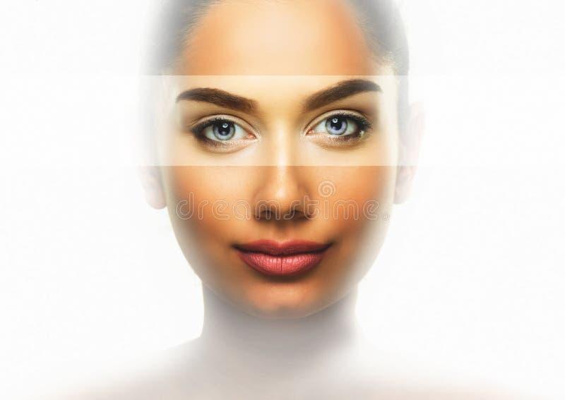 Concept de soins oculaires de beauté photographie stock libre de droits